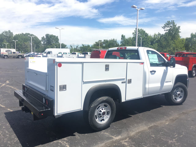 2017 Sierra 2500 Regular Cab 4x4,  Monroe Service Body #HT614 - photo 6