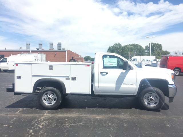 2017 Sierra 2500 Regular Cab 4x4,  Monroe Service Body #HT614 - photo 7