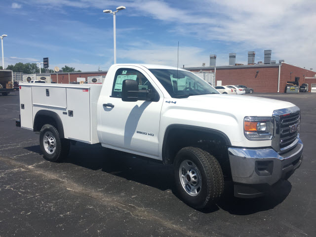 2017 Sierra 2500 Regular Cab 4x4,  Monroe Service Body #HT614 - photo 8