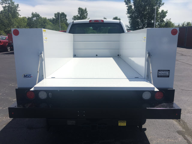 2017 Sierra 2500 Regular Cab 4x4,  Monroe Service Body #HT614 - photo 19