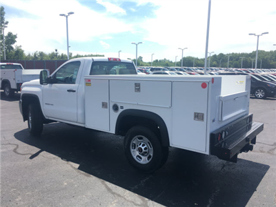2017 Sierra 2500 Regular Cab 4x4 Service Body #HT614 - photo 2