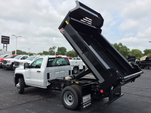 2017 Sierra 3500 Regular Cab DRW 4x4, Dump Body #HT653 - photo 2