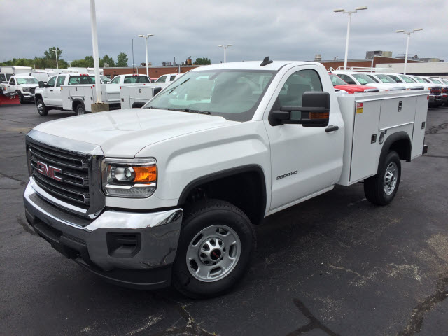 2017 Sierra 2500 Regular Cab Service Body #HT654 - photo 1