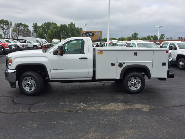 2017 Sierra 2500 Regular Cab Service Body #HT654 - photo 4