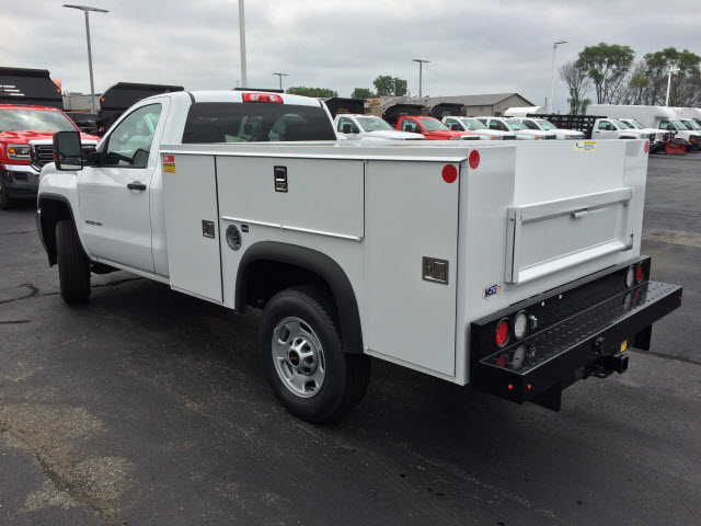 2017 Sierra 2500 Regular Cab Service Body #HT654 - photo 2