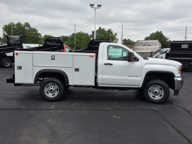 2017 Sierra 2500 Regular Cab Service Body #HT654 - photo 7