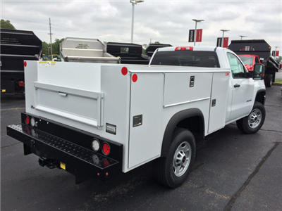 2017 Sierra 2500 Regular Cab Service Body #HT654 - photo 6