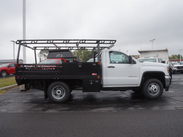 2017 Sierra 3500 Regular Cab DRW 4x4, Contractor Body #HT711 - photo 4