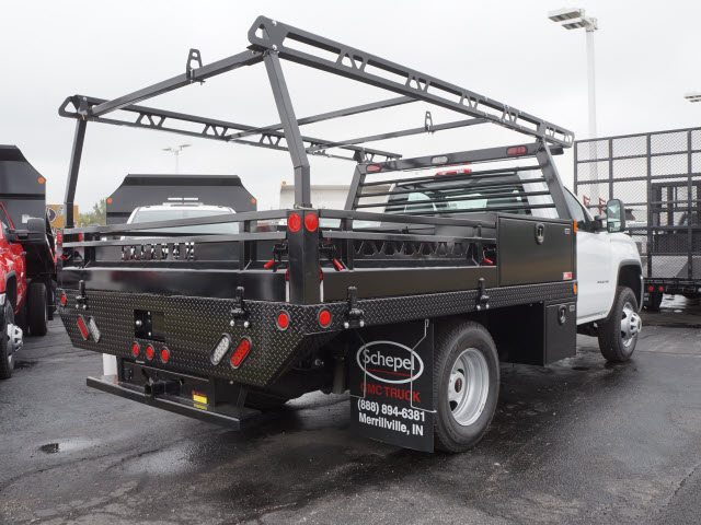 2017 Sierra 3500 Regular Cab DRW 4x4, Contractor Body #HT711 - photo 5