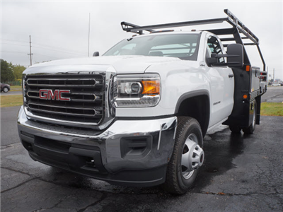 2017 Sierra 3500 Regular Cab DRW 4x4, Contractor Body #HT711 - photo 1