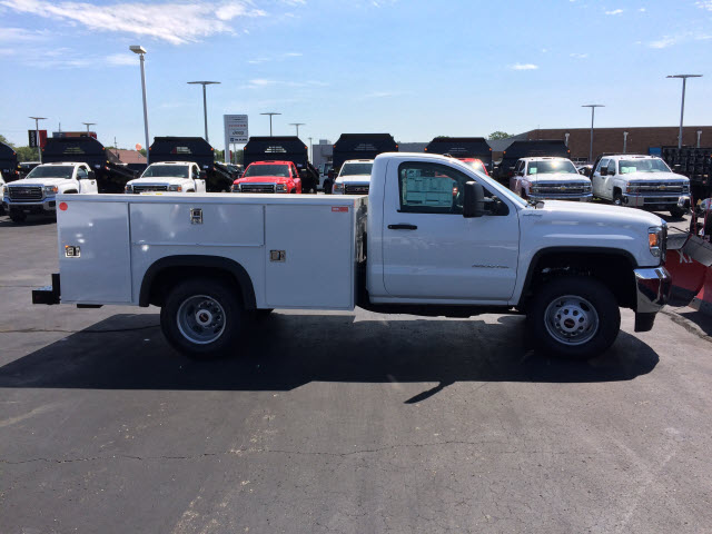 2017 Sierra 3500 Regular Cab DRW 4x4 Service Body #HT730 - photo 7