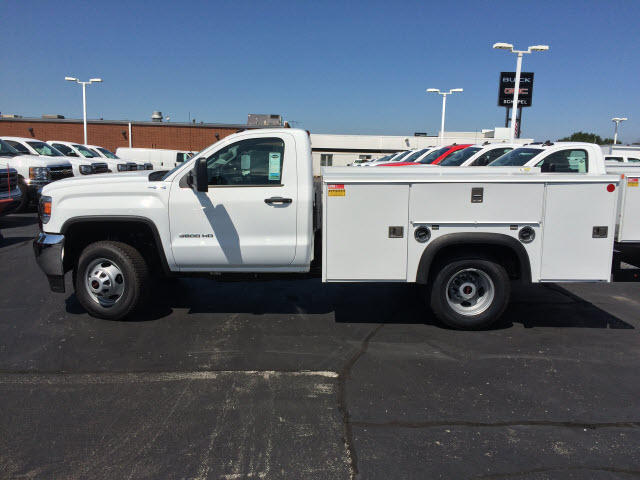 2017 Sierra 3500 Regular Cab DRW 4x4,  Monroe Service Body #HT730 - photo 4