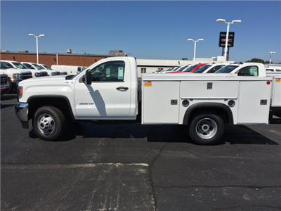 2017 Sierra 3500 Regular Cab DRW 4x4 Service Body #HT730 - photo 4