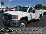 2017 Sierra 3500 Regular Cab DRW 4x4,  Monroe Service Body #HT730 - photo 1