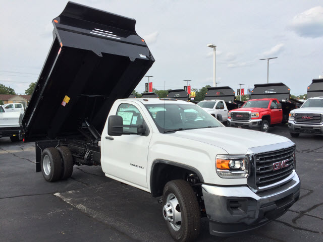 2017 Sierra 3500 Regular Cab DRW Dump Body #HT748 - photo 3