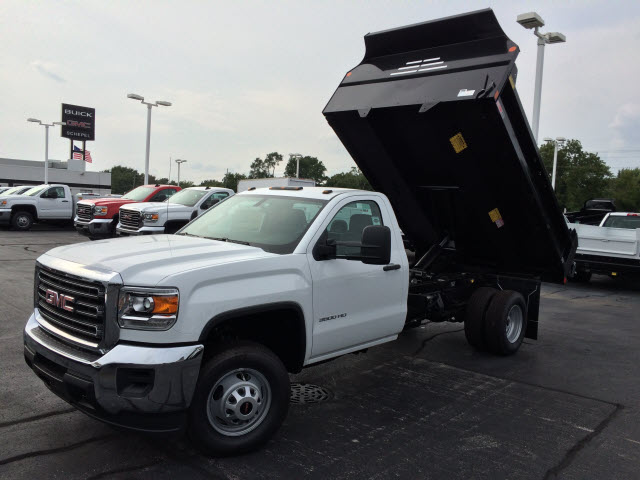 2017 Sierra 3500 Regular Cab DRW Dump Body #HT748 - photo 1