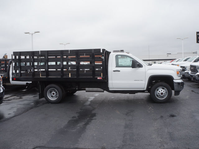 2017 Sierra 3500 Regular Cab Stake Bed #HTT826 - photo 3