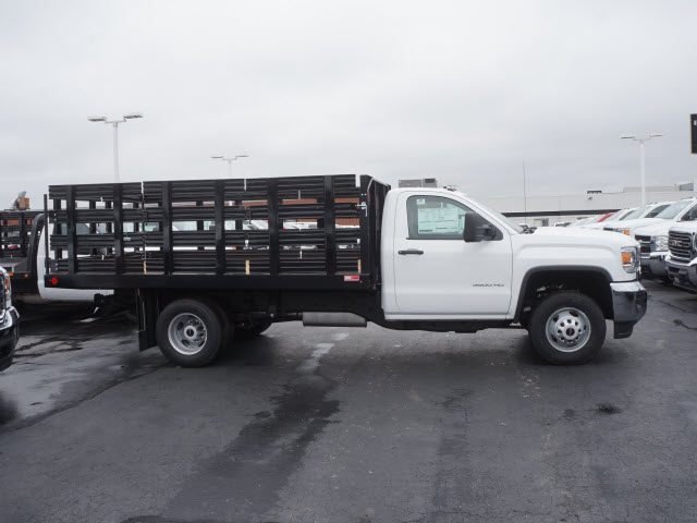2017 Sierra 3500 Regular Cab Stake Bed #HTT832 - photo 3