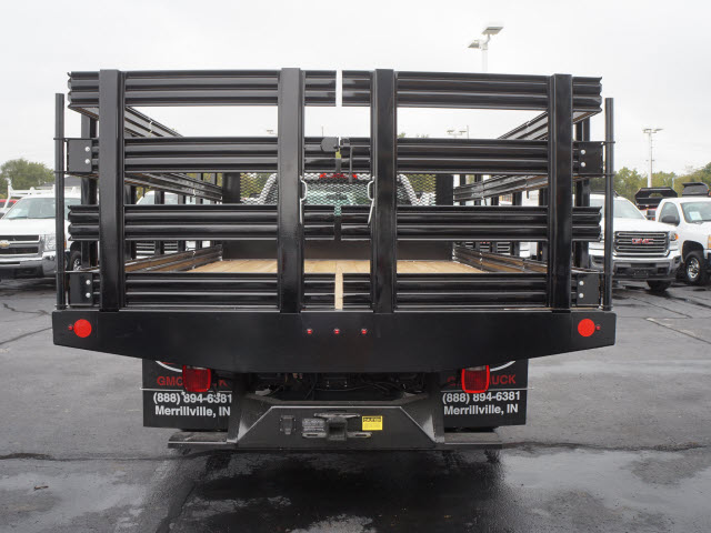2017 Sierra 3500 Regular Cab Stake Bed #HTT832 - photo 4