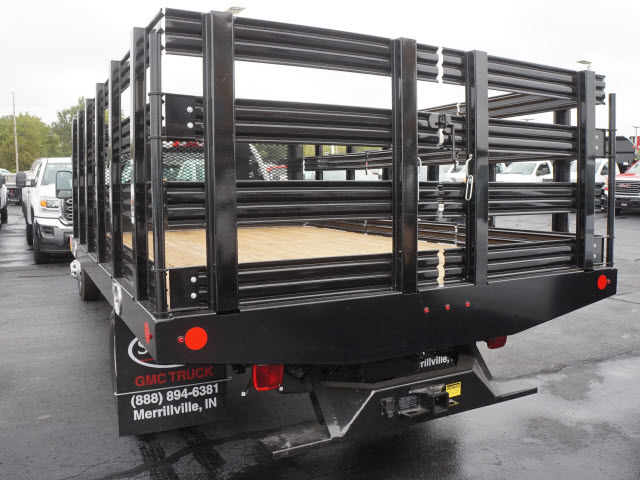 2017 Sierra 3500 Regular Cab Stake Bed #HTT832 - photo 2