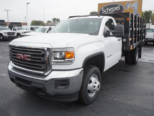 2017 Sierra 3500 Regular Cab Stake Bed #HTT832 - photo 6