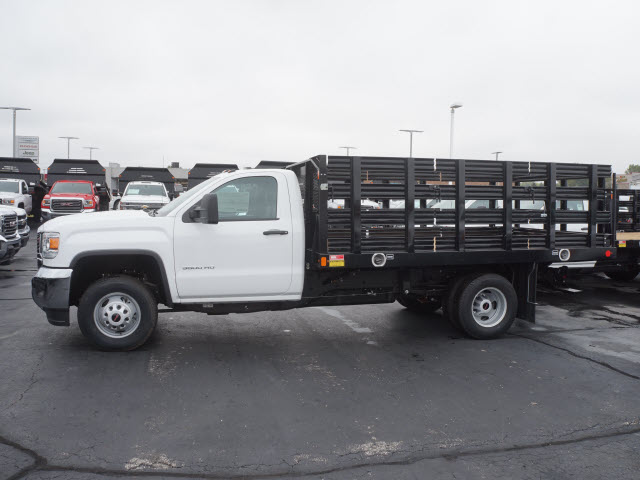 2017 Sierra 3500 Regular Cab DRW, Monroe Stake Bed #HTT832 - photo 6