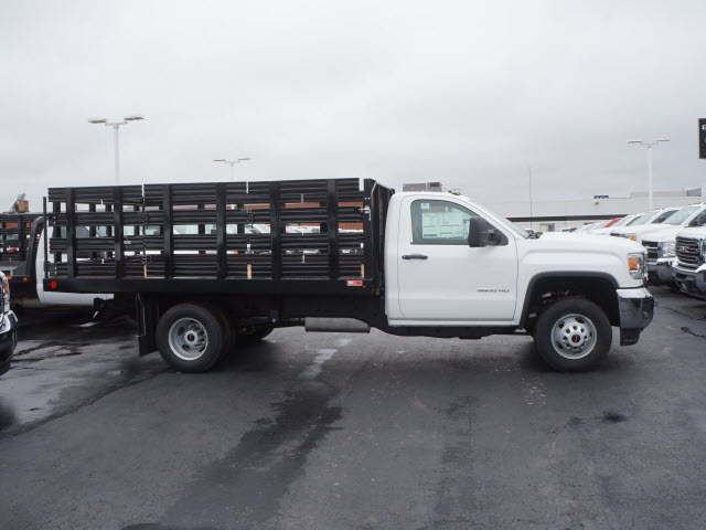 2017 Sierra 3500 Regular Cab Stake Bed #HTT863 - photo 3