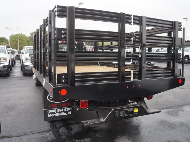 2017 Sierra 3500 Regular Cab Stake Bed #HTT863 - photo 2