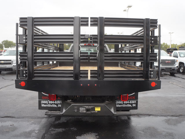 2017 Sierra 3500 Regular Cab Stake Bed #HTT863 - photo 6