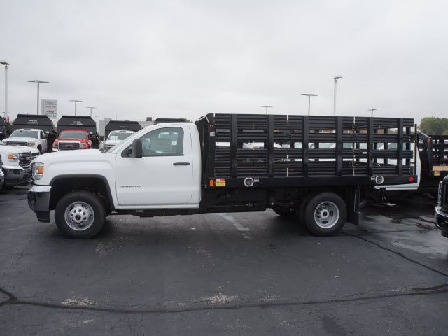 2017 Sierra 3500 Regular Cab DRW, Stake Bed #HTT863 - photo 6