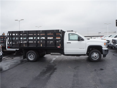 2017 Sierra 3500 Regular Cab DRW, Stake Bed #HTT863 - photo 4