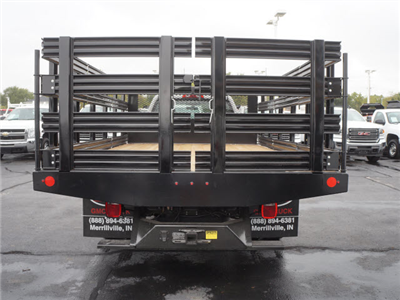 2017 Sierra 3500 Regular Cab DRW, Stake Bed #HTT863 - photo 7