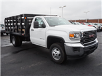 2017 Sierra 3500 Regular Cab Stake Bed #HTT863 - photo 1