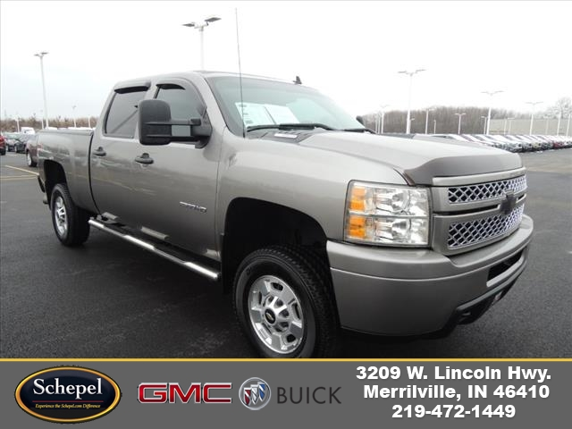 2013 Silverado 2500 Crew Cab 4x4,  Pickup #JT10X53A - photo 1