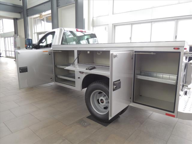 2018 Sierra 3500 Regular Cab DRW 4x4,  Service Body #JT11X85 - photo 15