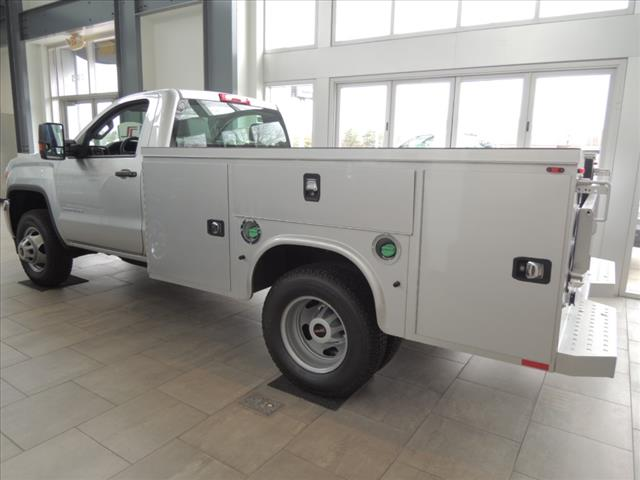 2018 Sierra 3500 Regular Cab DRW 4x4,  Service Body #JT11X85 - photo 6
