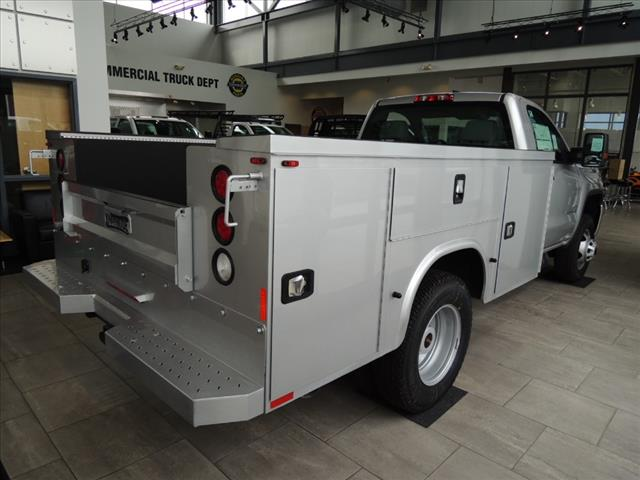 2018 Sierra 3500 Regular Cab DRW 4x4,  Service Body #JT11X85 - photo 2