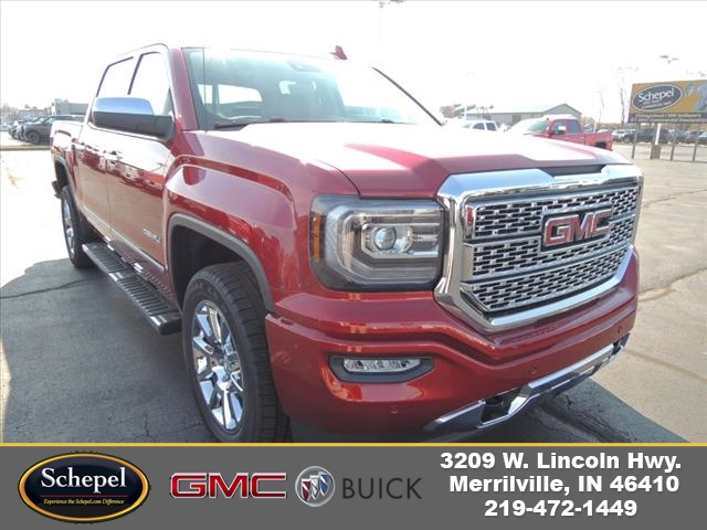 2018 Sierra 1500 Crew Cab 4x4, Pickup #JT3X119 - photo 1