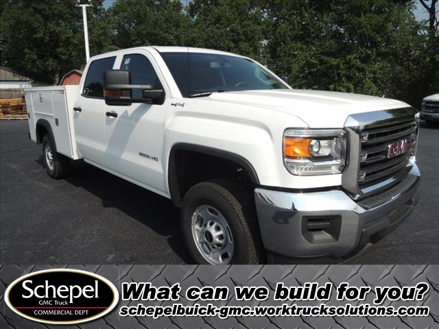 2018 Sierra 2500 Crew Cab 4x4,  Service Body #JT518 - photo 1