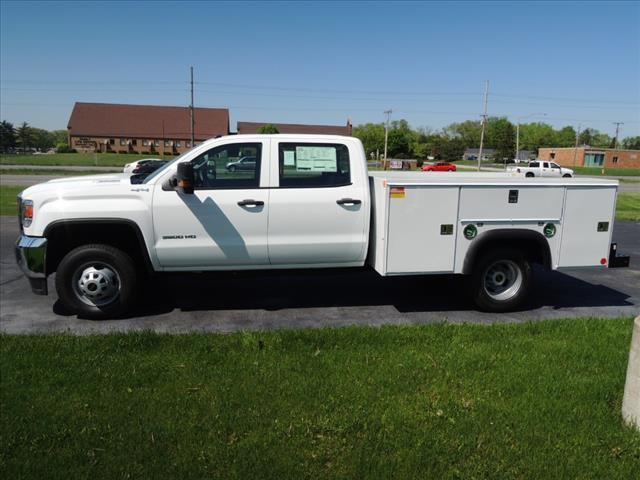 2018 Sierra 3500 Crew Cab DRW 4x4,  Service Body #JT542 - photo 5