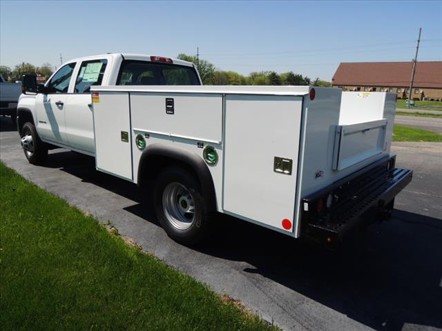 2018 Sierra 3500 Crew Cab DRW 4x4,  Service Body #JT542 - photo 6