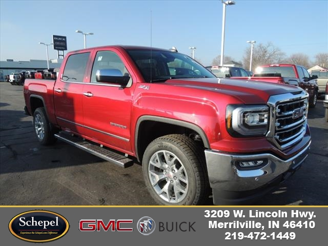 2018 Sierra 1500 Crew Cab 4x4,  Pickup #JTT12X09 - photo 1