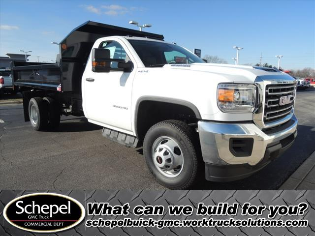 2019 Sierra 3500 Regular Cab DRW 4x4,  Monroe Dump Body #KT11X16 - photo 1