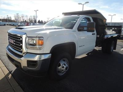 2019 Sierra 3500 Regular Cab DRW 4x4,  Monroe MTE-Zee Dump Body #KT11X16 - photo 4