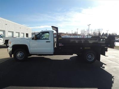 2019 Sierra 3500 Regular Cab DRW 4x4,  Monroe MTE-Zee Dump Body #KT11X16 - photo 5