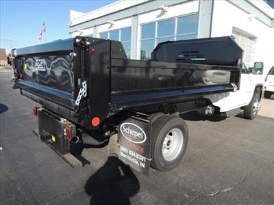 2019 Sierra 3500 Regular Cab DRW 4x4,  Monroe MTE-Zee Dump Body #KT11X16 - photo 2