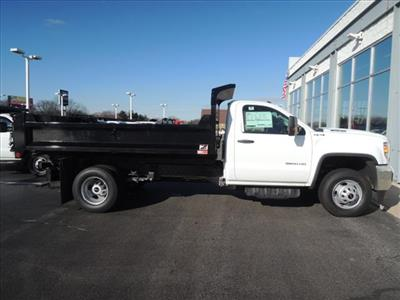 2019 Sierra 3500 Regular Cab DRW 4x4,  Monroe MTE-Zee Dump Body #KT11X16 - photo 9