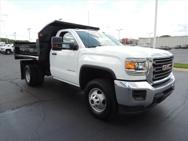 2019 Sierra 3500 Regular Cab DRW 4x4, Freedom Contractor Body #KT297 - photo 1