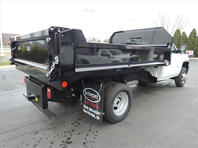 2019 Sierra 3500 Regular Cab DRW 4x4,  Monroe Dump Body #KT307 - photo 1