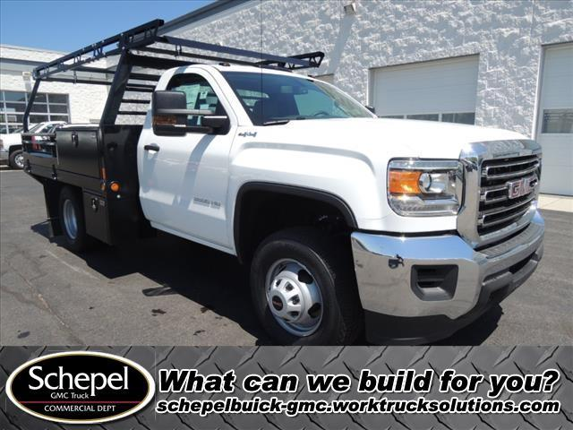 2019 Sierra 3500 Regular Cab DRW 4x4, Freedom Contractor Body #KT363 - photo 1